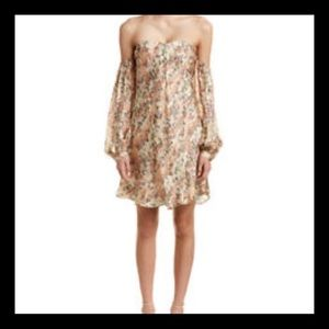 HAUTE HIPPIE My Amour Silk Floral Dress NWT SZ XS
